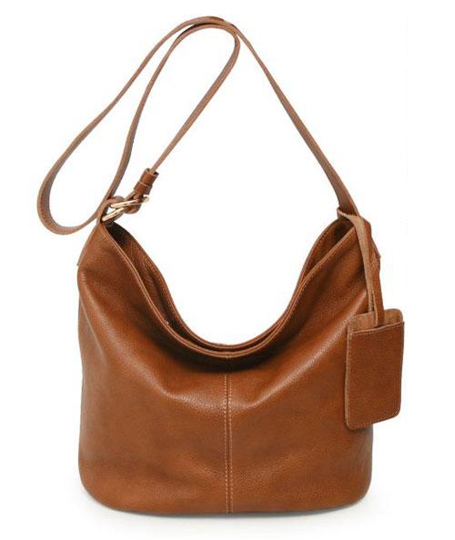 Hobo Handbags Satchel Leather Purses In Brown X6428 Vivihandbag