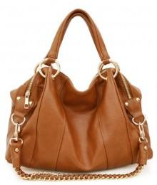 Brown Hobo Shoulder Bag 26